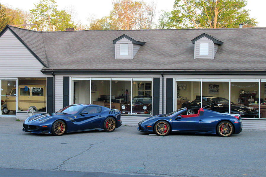 2017 Ferrari F12 TdF and 2015 Ferrari 458 Speciale Aperta For Sale