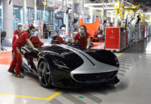 Ferrari Restarts Production