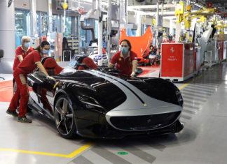 Ferrari Restarts Production