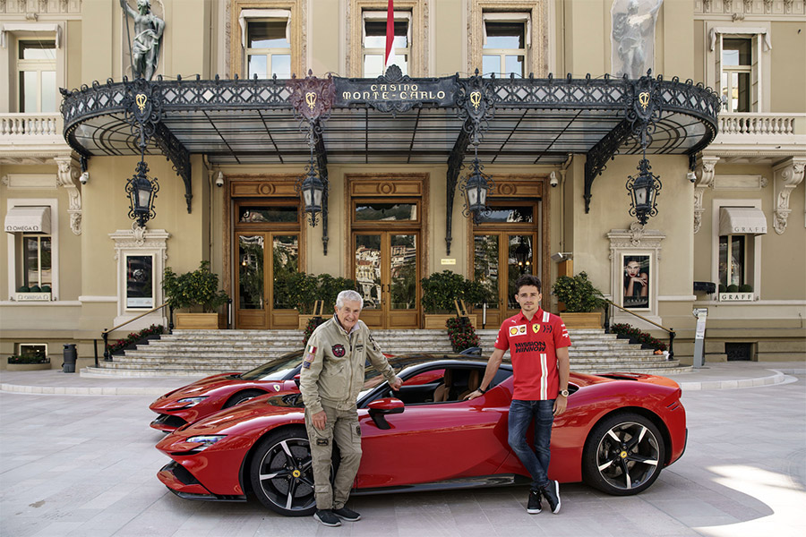 "Ferrari SF90 Stradale and Charles Leclerc to Star in ""Grand Rendez-Vous"""