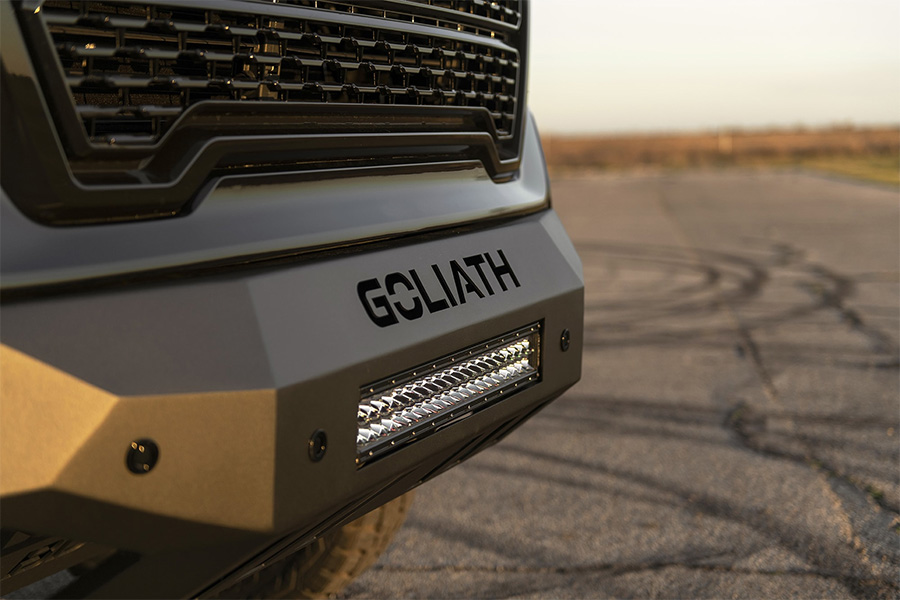 Hennessey Goliath Supercharged Launched