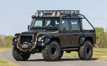 James Bond Spectre Land Rover Defender Silverstone Auctions