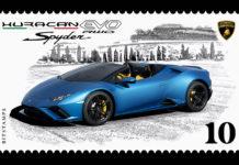 Lamborghini Huracan EVO Spyder Bitstamps