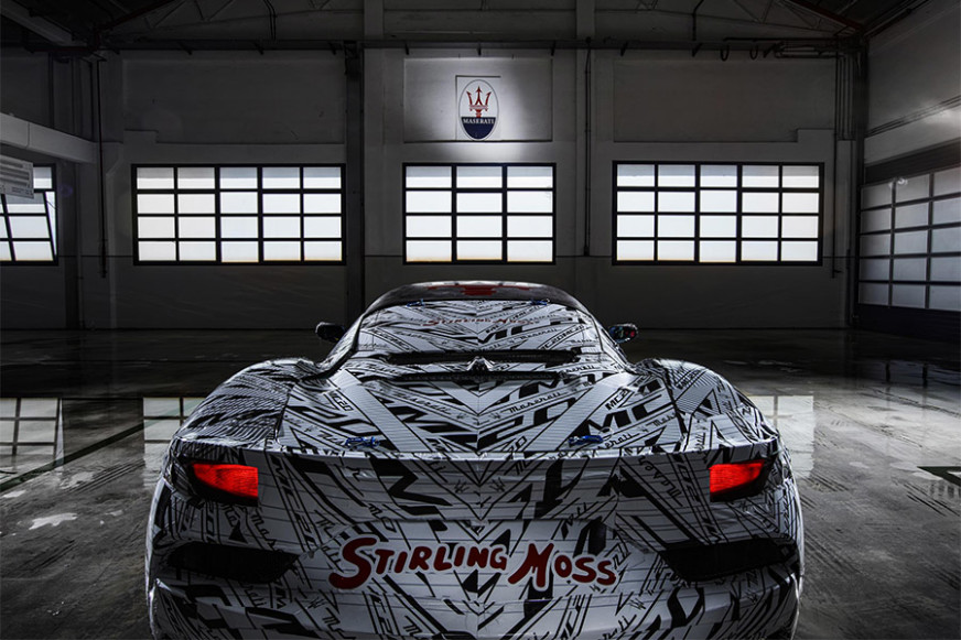 Maserati MC20 Super Sportscar Dedicated to Sir Stirling Moss