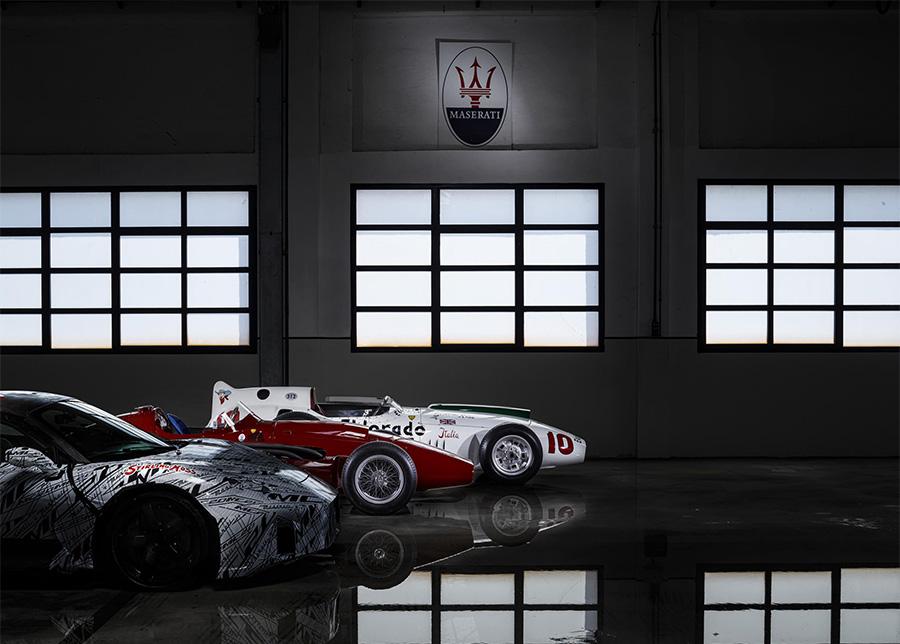 Maserati MC20 Super Sportscar Dedicated to Sir Stirling Moss
