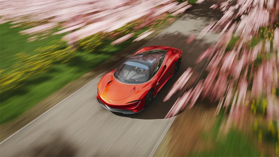 McLaren Forza Horizon DriveatHome