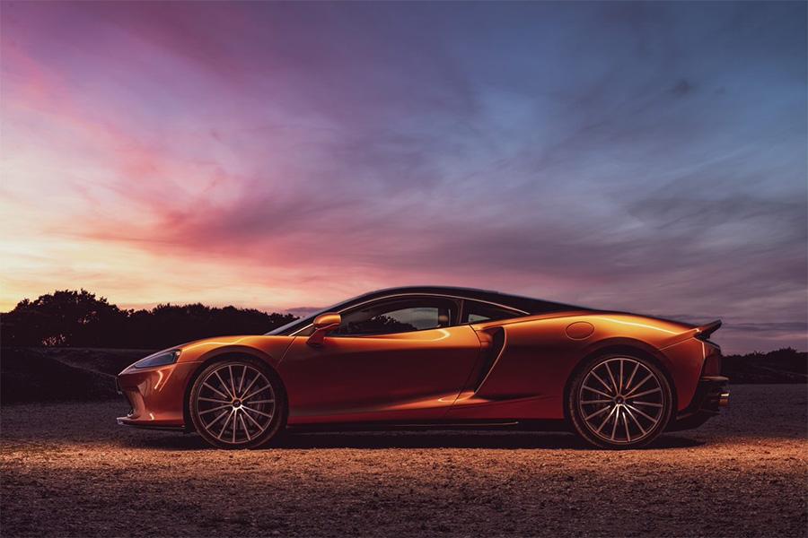 McLaren GT Interior Unique Materials