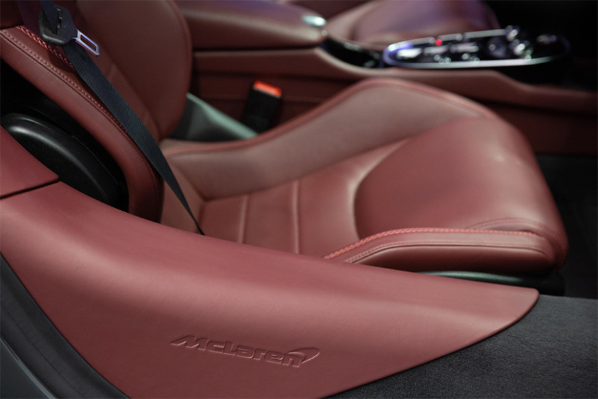 McLaren GT Interior Unique Materials
