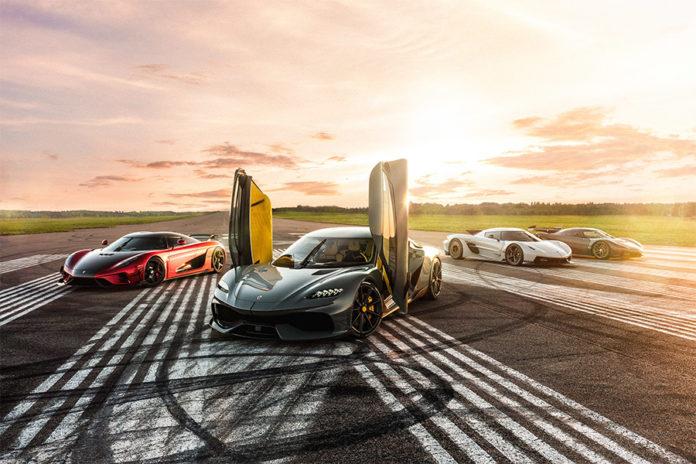 Year of the Koenigsegg Regera
