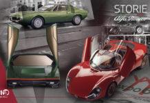 Alfa Romeo 33 Stradale, Carabo and Montreal