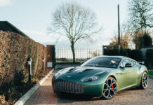 Aluminum Aston Martin Zagato For Sale