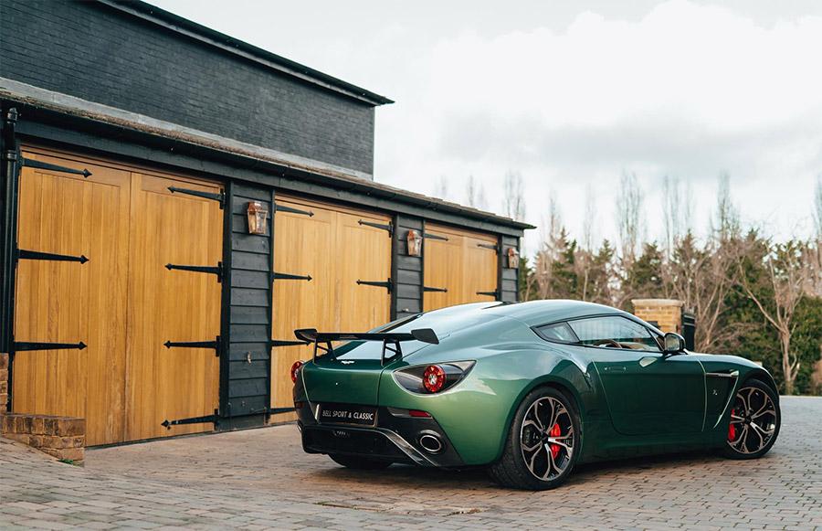 Aluminum Aston Martin Zagato For Sale