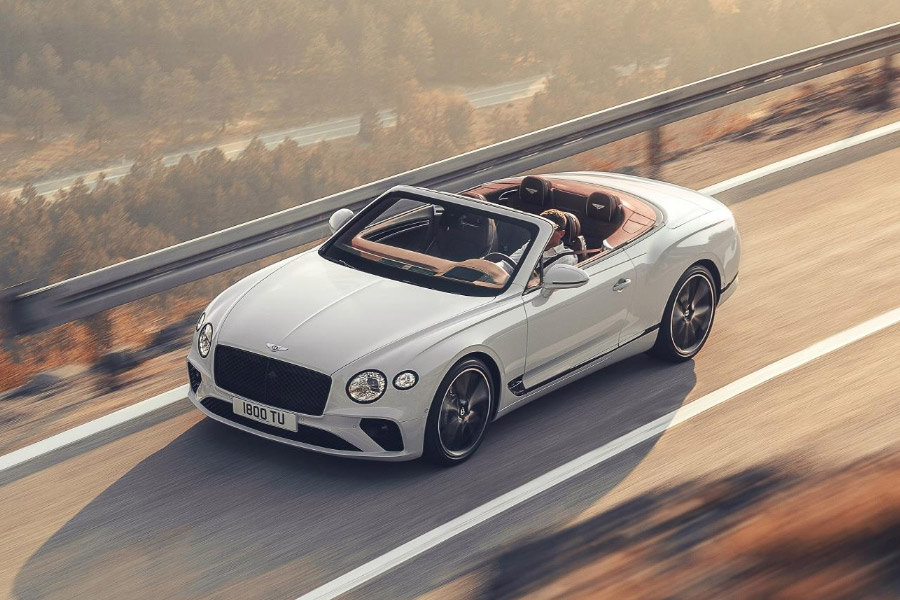 Bentley Continental GT V8 Convertible Deliveries
