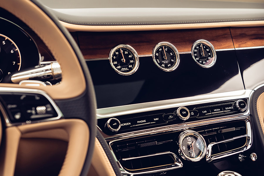 Bentley Rotating Display Flying Spur Continental GT