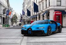 Bugatti Chiron Pur Sport European Tour