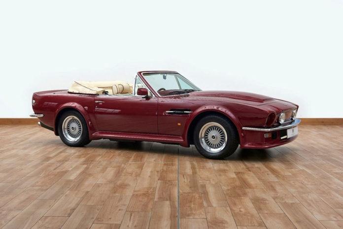 David Beckham Aston Martin V8 Volante For Sale