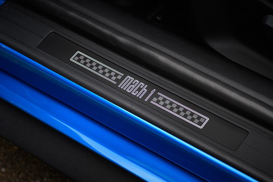 Ford Mustang Mach 1 Logo
