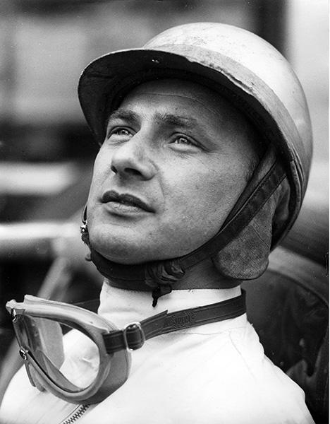 Hans Herrmann Porsche Driver
