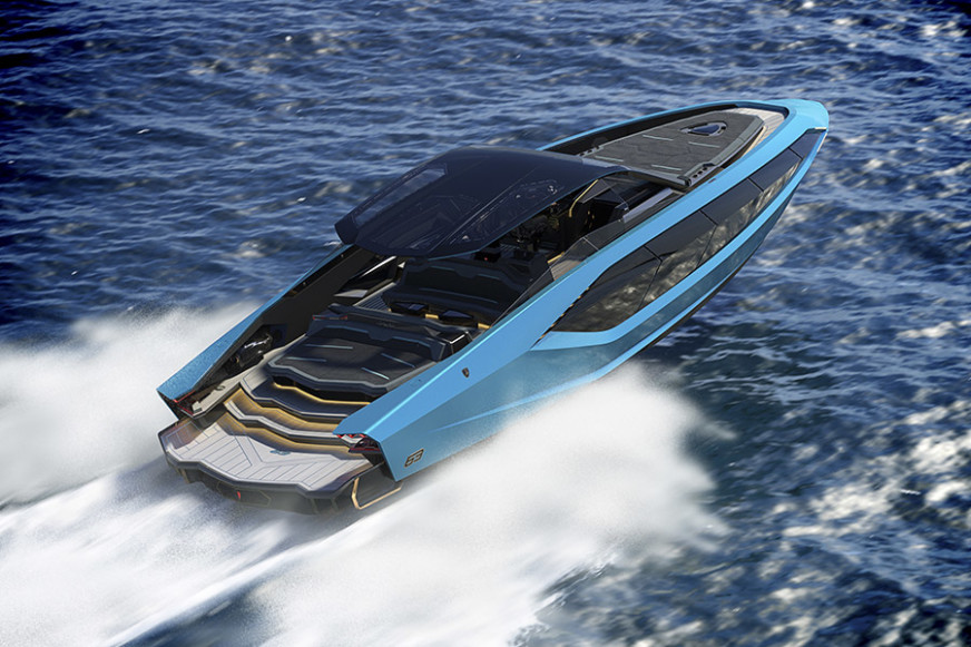 Italian Sea Group Tecnomar for Lamborghini 63