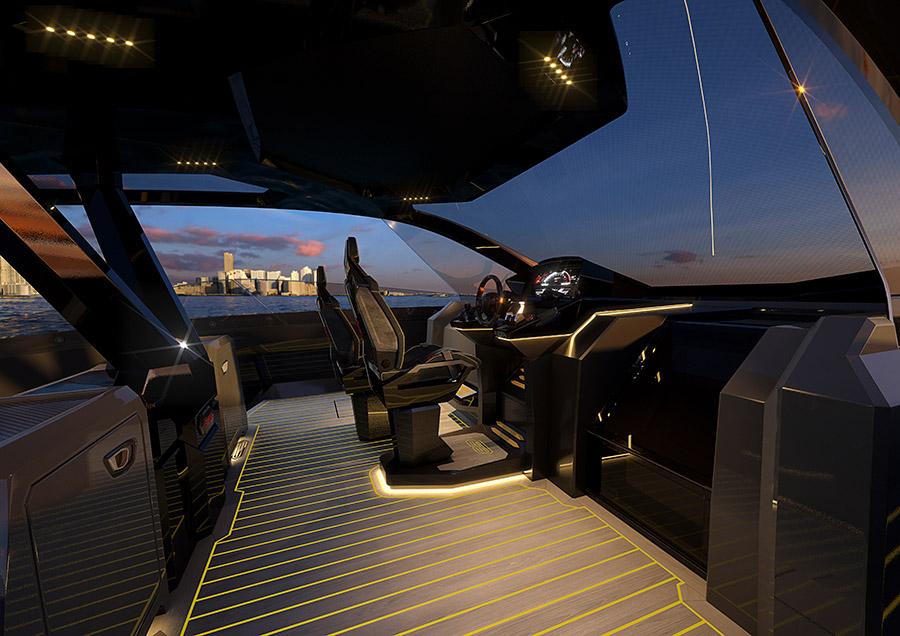 Italian Sea Group Tecnomar for Lamborghini 63