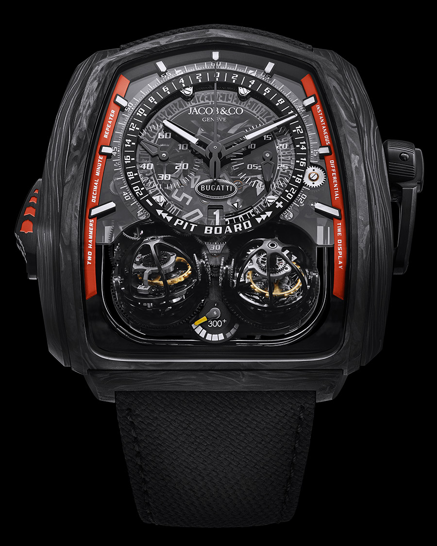 Jacob & Co. Bugatti Twin Turbo Furious 300+ Watch