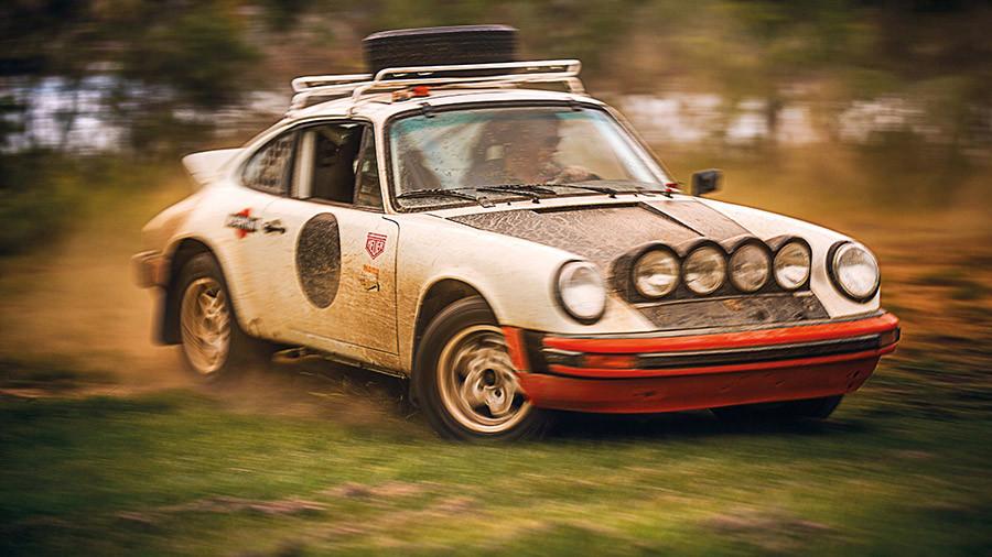 Jim Goodlett Porsche 911 SC Rally car
