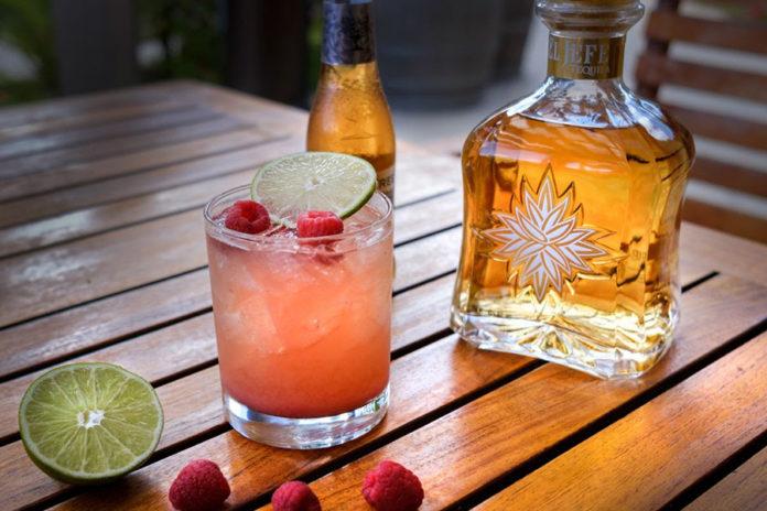 Laguna Seca Corkscrew Paradise Cocktail