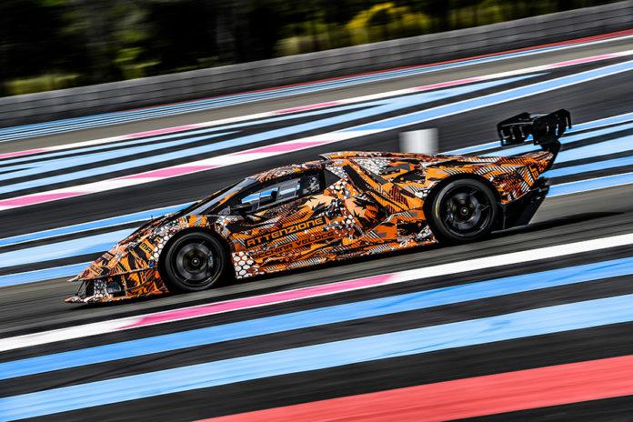 Lamborghini SCV12 Squadra Corse Hypercar