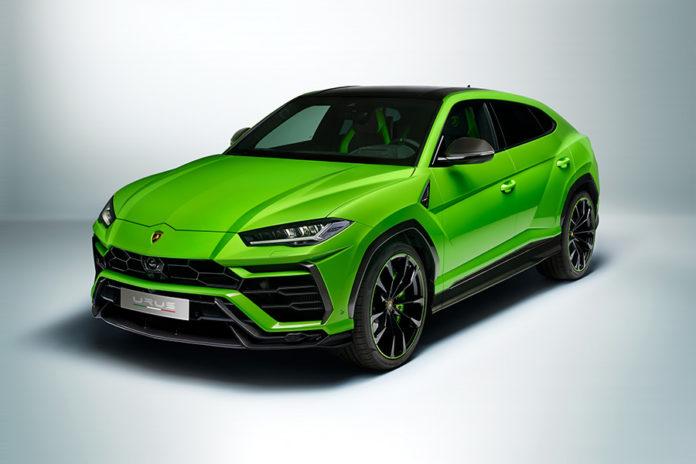 Lamborghini Urus Pearl Capsule Colors