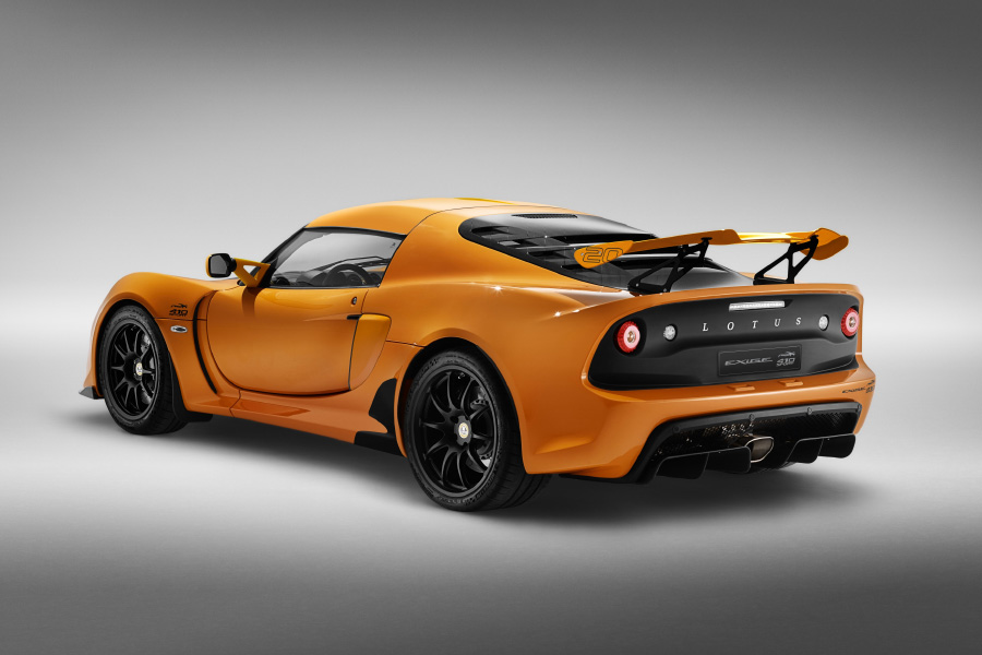Lotus Exige 20th Anniverary Edition