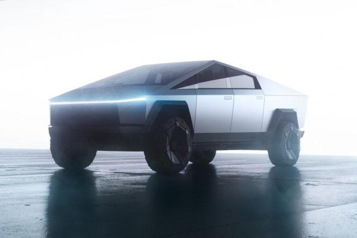 Tesla Cybertruck Petersen Automotive Museum