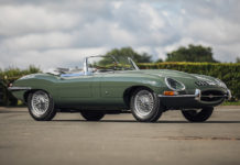 1961 Jaguar E-Type Roadster Silverstone Live Online Auction