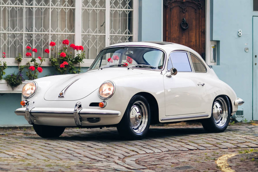 1963 Porsche 356 B Carrera 2 Coupé by Reutter For Sale