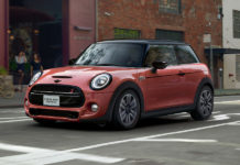 2021 MINI Coral Red Edition