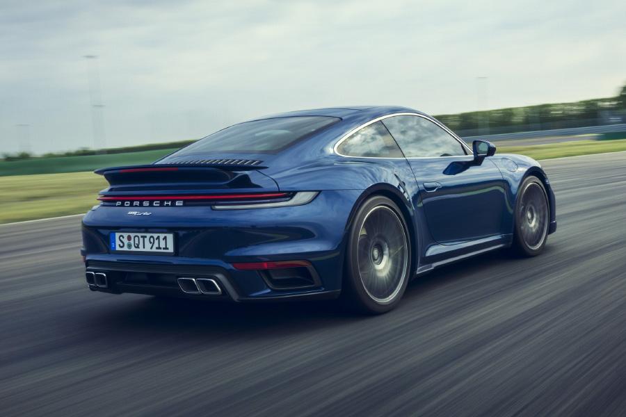 The 2021 Porsche 911 Turbo