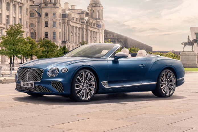 Bentley Continental GT Mulliner Convertible St Tropez