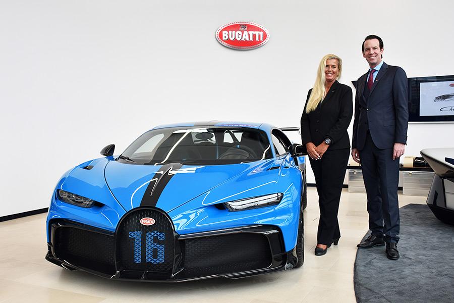 Bugatti Chiron Pur Sport Zurich