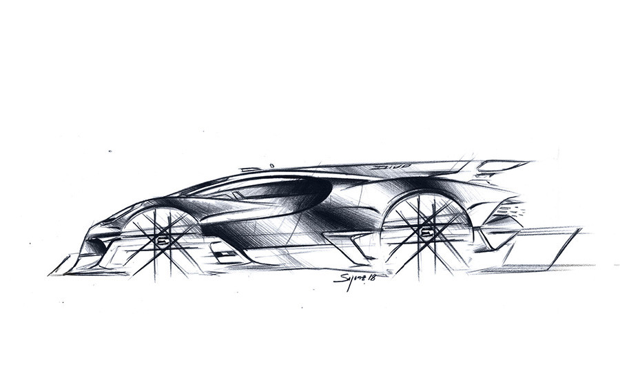Bugatti Digital Design Process