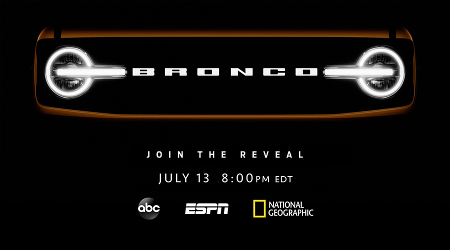 All-New Ford Bronco Adventure Vehicles