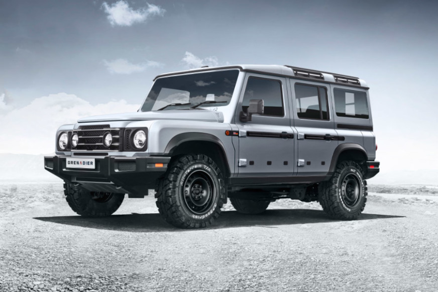 INEOS Grenadier 4X4 Revealed