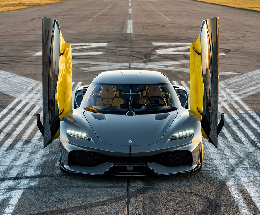 Koenigsegg Gemera Salon Prive UK Debut