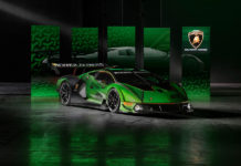 Lamborghini Essenza SCV12 Limited-Edition Track-Only Hypercar
