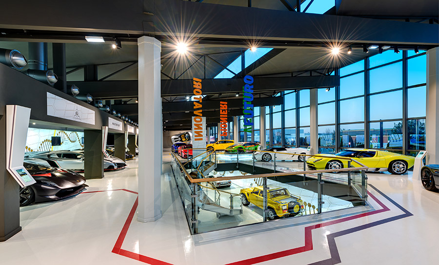 Lamborghini Museum Sián Roadster Display