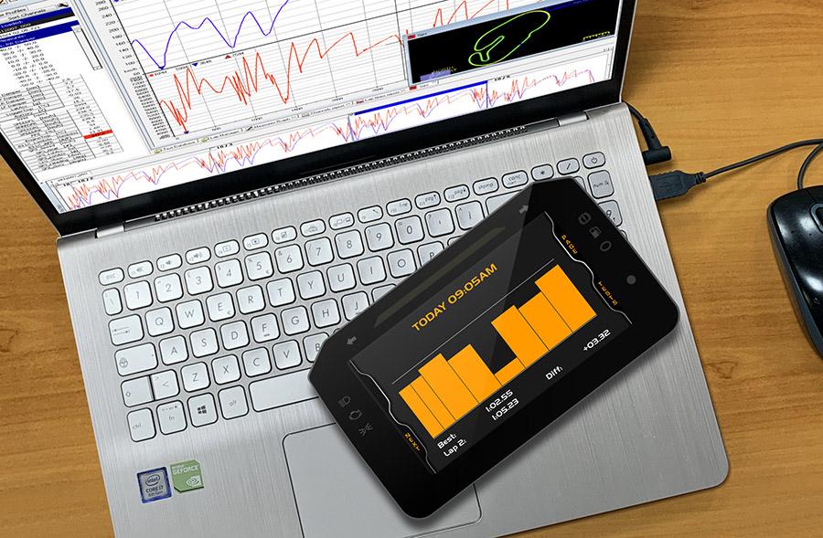 Lotus Track Day Digital Instrument Pack