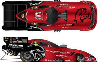 Mopar Dodge SRT Hellcat Redeye Paint Schemes NHRA Summernationals