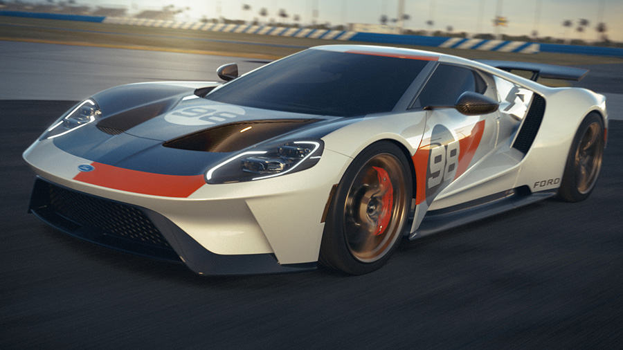2021 Ford GT Heritage Edition 1966 Daytona Win