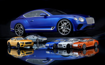 Bentley Continental GT 1:8 Scale Model