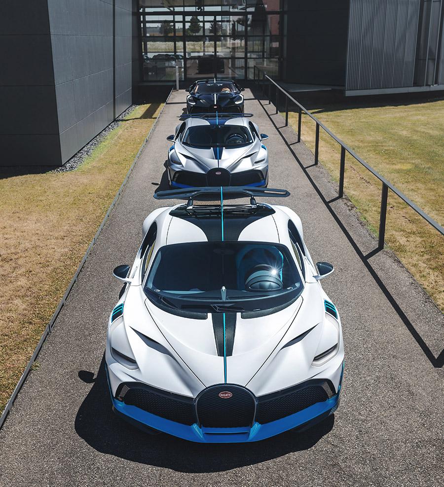Bugatti Divo Deliveries