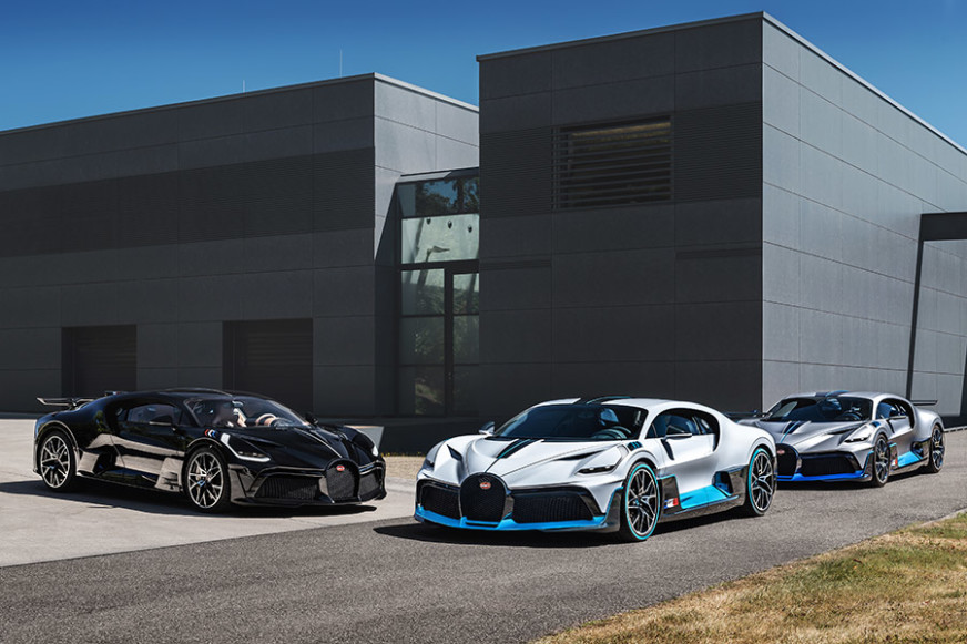 Bugatti Divo Deliveries