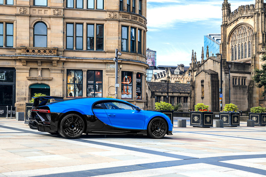 Bugatti Manchester Welcomes the Chiron Pur Sport